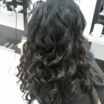 hairdressers and beauty salon curly weft human hair