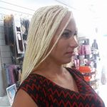 hairdressers and beauty salon braids extensions
