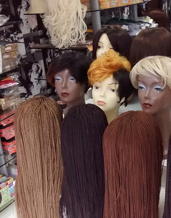 wigs hair care contact